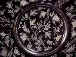 Click to view larger image of Fostoria Chintz Salad Plate Elegant Depression Glass (Image5)