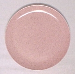 Click here to enlarge image and see more about item 52353: Monterey Pink or Salmon Dinner Plate California Pottery