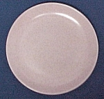 Click here to enlarge image and see more about item 52363: Monterey Salmon or Beige Salad Plate California Pottery
