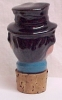 Click to view larger image of Ceramic Bottle Decanter Stopper Man Toby (Image2)