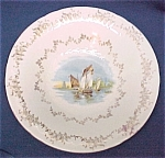 Click here to enlarge image and see more about item 54723: Sailboat Sailing Nautical Sail Boat Seascape Bowl Plate