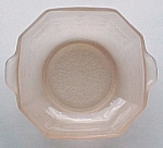 Hocking Depression Glass Frosted Pink Satin Cereal Bowl