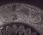 Click to view larger image of Duncan Miller Elegant Depression Glass Sandwich Platter (Image3)