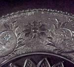 Click to view larger image of Duncan Miller Elegant Depression Glass Sandwich Platter (Image4)