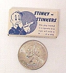 Click here to enlarge image and see more about item 58727: Stinky Stinkers Cigarette Cigar Plug Gag Gift Bar Party