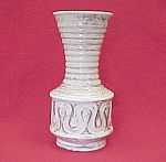 Click to view larger image of Large Savoy China Art Pottery Vase Gold Tweed Antique (Image1)