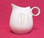 Click here to enlarge image and see more about item 59706: 1958 Vernonware Anytime Creamer Metlox Vernon Ware Vntg