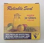 12 New Nib Reliable Seal Home Canning Jar Lid Rubbers