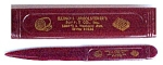 Click here to enlarge image and see more about item 61510: Bakelite Letter Opener Illinois Upholsterer's Supply Co
