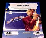 Click to view larger image of 1995 Joe Camel Cigarettes Classifieds VIP Club Calendar (Image2)