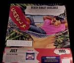 Click to view larger image of 1995 Joe Camel Cigarettes Classifieds VIP Club Calendar (Image3)
