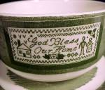Click to view larger image of 9 Colonial Homestead Cup & Saucer 1950s Royal China Dinnerware (Image5)