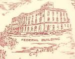 Click to view larger image of Vernon Kilns Collectors Plate Mason City Iowa Vintage (Image5)