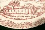 Click to view larger image of Vernon Kilns Collectors Plate Mason City Iowa Vintage (Image8)