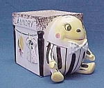 Click here to enlarge image and see more about item 65428: Humpty Dumpty Nursery Rhyme Decor Planter Laundry Day