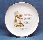 Holly Hobbie Mother's Day 1975 Commemorative Plate