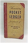 Click here to enlarge image and see more about item 66402: John Deere Farmer's Pocket Ledger 1952 1953 Dubuque IA