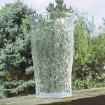 Click here to enlarge image and see more about item 66572: Tree of Life Drinking Glass Water Tumbler Vintage 1930s