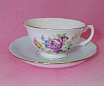 Royal Grafton Floral Bouquet Bone China Cup & Saucer