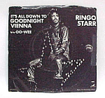 Click here to enlarge image and see more about item 67573: Ringo Starr 45 RPM Record OO-WEE - Goodnight Vienna