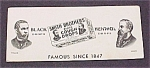 Click here to enlarge image and see more about item 69760: Ink Blotter Smith Brothers Cough Drops Advertising
