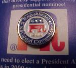 Click to view larger image of 1999 RNC Republican National Committee Presidential Campaign Political (Image2)
