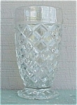 Click here to enlarge image and see more about item 68367: Waterford Waffle 10 oz Ftd Tumbler Depression Glass