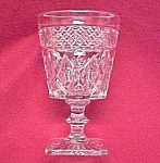 Click here to enlarge image and see more about item 68924: Imperial Depression Glass Cape Cod 8 oz Water Goblet