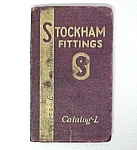 1938 Stockham Pipe Fittings Catalog L Birmingham AL