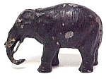 Click here to enlarge image and see more about item 69126: German Metal Elephant Figurine Germany Figure Vintage