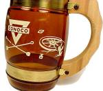 Click to view larger image of Siesta Ware Conoco Oil Western Coffee Beer Soda Cup Mug (Image4)