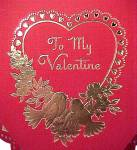 Click to view larger image of To My Valentine Heart Candy Box Love Birds Betty Jane (Image2)