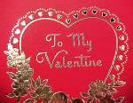 Click to view larger image of To My Valentine Heart Candy Box Love Birds Betty Jane (Image4)