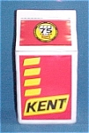 Click here to enlarge image and see more about item 69986: Kent Feeds Cookie Jar Feed Sack 75 Years 2002 Frankoma