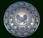 Click here to enlarge image and see more about item 70476: Bing & Grondahl 1776 - 1976 USA Bicentennial Plate B&G