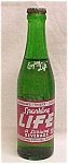 Click here to enlarge image and see more about item 70608: Sparkling  Life Soda Full Green Bottle Mason City Iowa