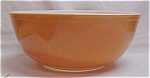 Click here to enlarge image and see more about item 70931: Pyrex Orange 404 Mixing Bowl 4 Quart