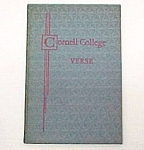 Click here to enlarge image and see more about item 71892: Cornell College Verse Vol 2 Mount Vernon Iowa IA Poetry