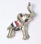 Click here to enlarge image and see more about item 72141: BJ Elephant Pin Republican Political Party Enameled