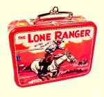 Click to view larger image of Hallmark Christmas Tree Ornament Lone Ranger Lunchbox 1997  (Image2)
