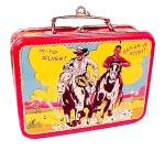 Click to view larger image of Hallmark Christmas Tree Ornament Lone Ranger Lunchbox 1997  (Image3)