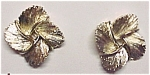 Lisner Goldtone Screw Earrings Mint on Card