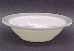 Click here to enlarge image and see more about item 73445: Pyrex Rimmed Berry Fruit Dessert Bowl Restaurant Grey