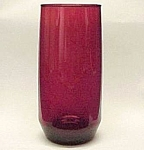 Click here to enlarge image and see more about item 74108: Anchor Hocking Royal Ruby Red Iced Tea Tumbler Fire King