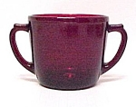Click here to enlarge image and see more about item 75234: Anchor Hocking Royal Ruby Red Sugar Bowl Fire King
