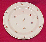 Click here to enlarge image and see more about item 75266: Homer Laughlin China Cardinal Art Deco 6 in Bread Plate