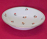 Click here to enlarge image and see more about item 75276: Homer Laughlin China Cardinal Art Deco Fruit Berry Bowl