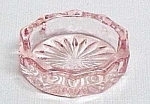 Depression Pink Glass Oval Open Salt Dip Cellar Dish