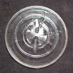 Click here to enlarge image and see more about item 77703:  Vintage Wide Mouth Clear Canning Jar Glass Lid Ball Ideal Hazel Atlas