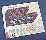 Click here to enlarge image and see more about item 77923: Reader's Disgest Complete Guide to Needlework 1979 Book